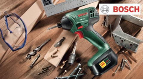 -25% sur certains outils Bosch