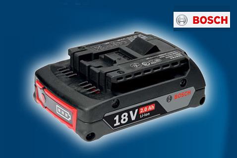 Batterie Bosch gratuite à l'achat de certains outils Bosch Pro