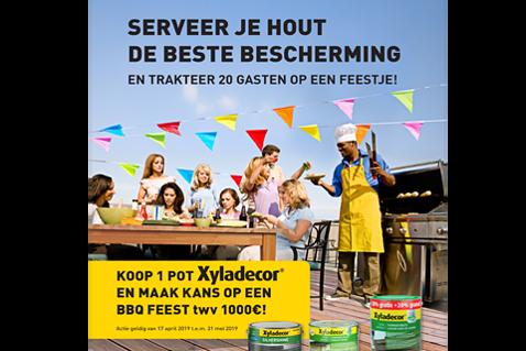 Maak kans op een barbecuefeest twv €1000
