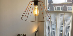 Fabriquer une lampe de style industriel (conception de Bas Berrevoets)