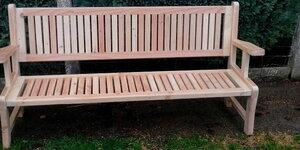 Fabrication d'un banc de jardin en bois de construction