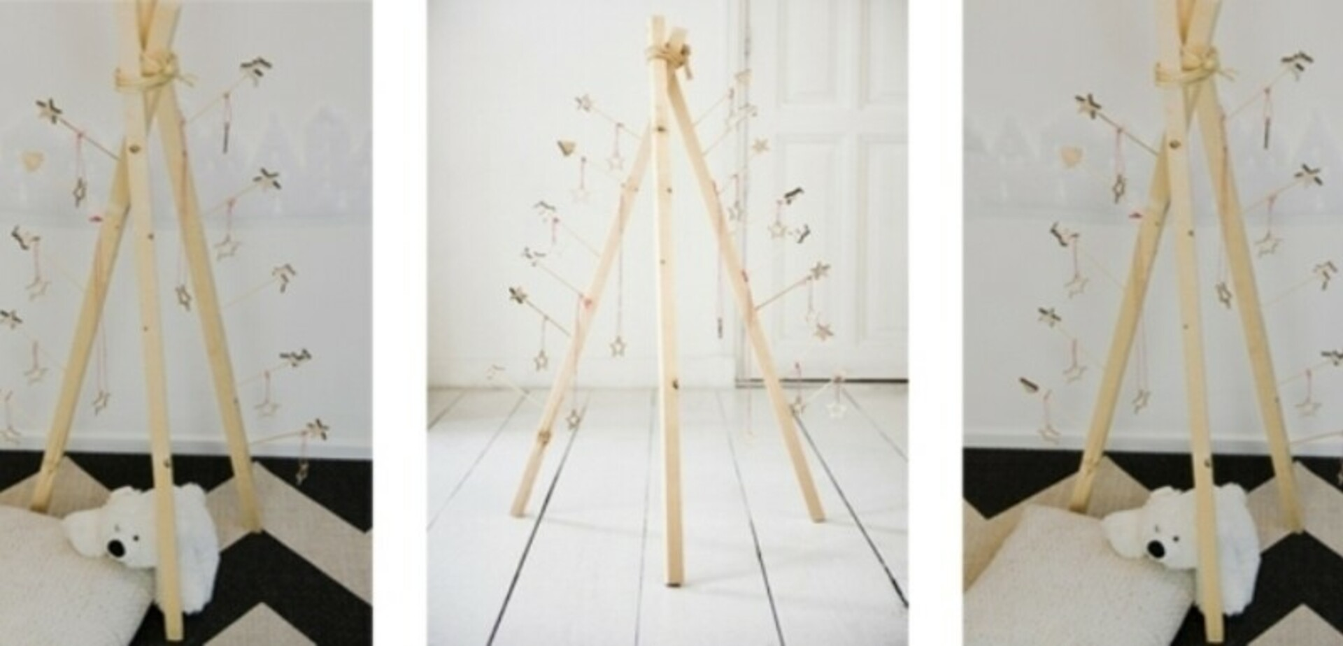 fabriquer son propre sapin tipi pour les makers. Black Bedroom Furniture Sets. Home Design Ideas