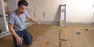 Hoe een kunststof vloer leggen