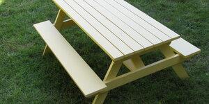 Picknick tafel zelf maken