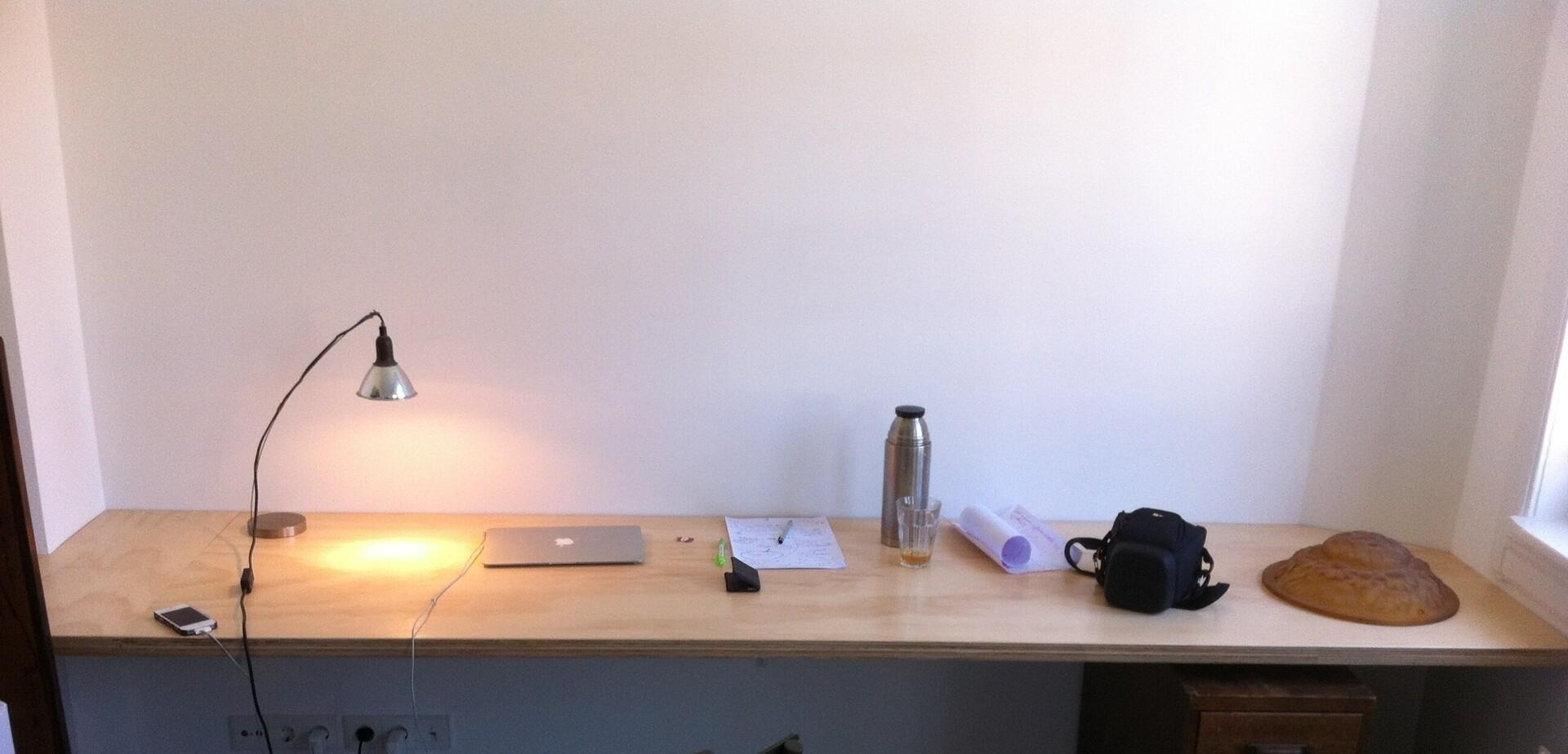 bureaublad maken brico voor de makers. Black Bedroom Furniture Sets. Home Design Ideas
