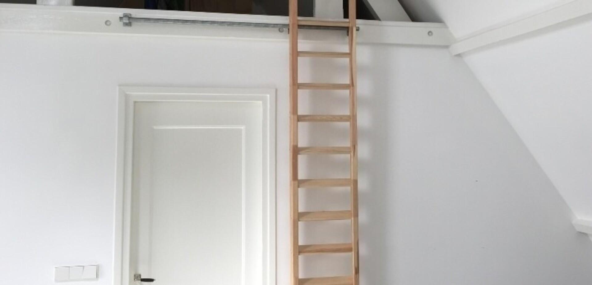 Zolder trap ladder brico voor de makers for Trap naar vliering