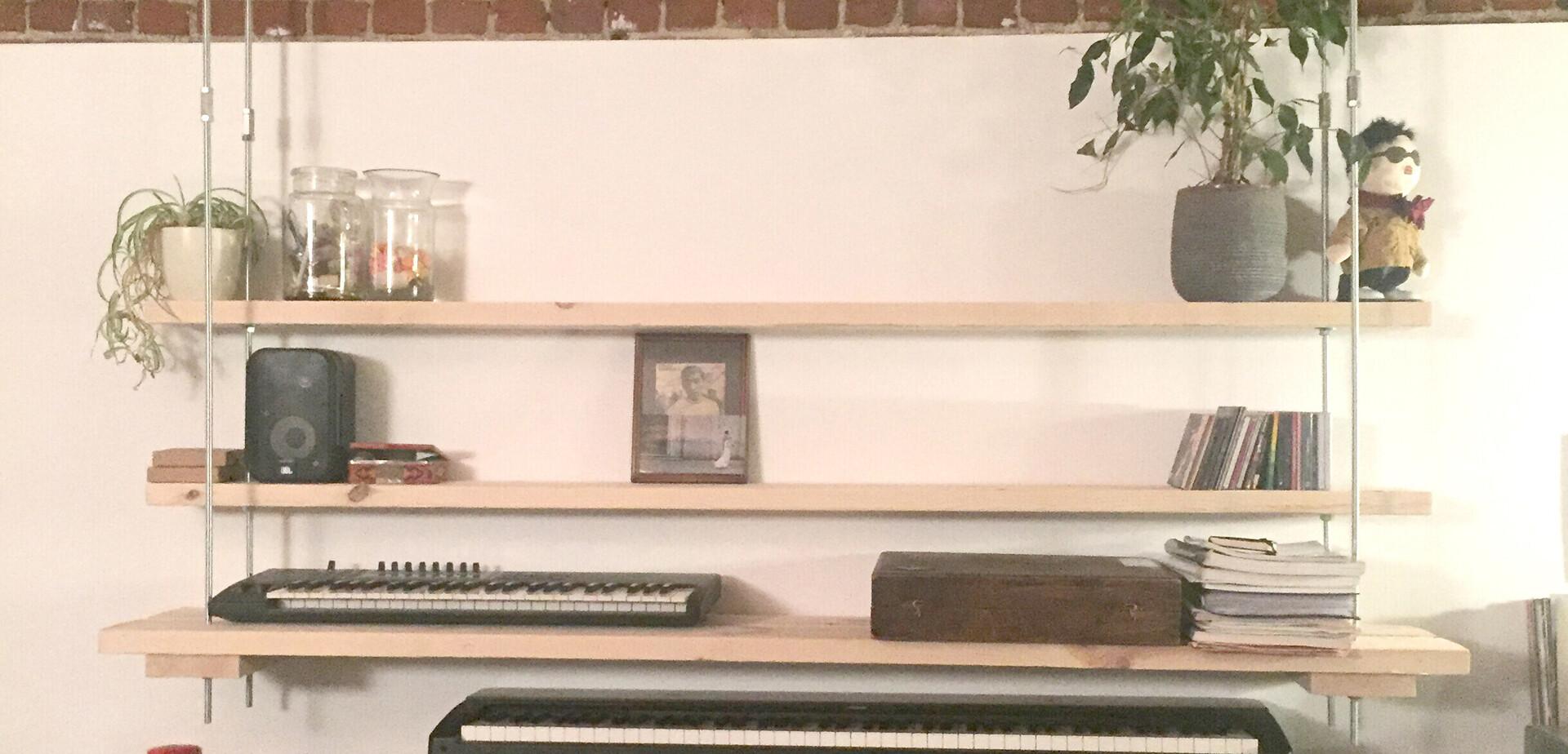 Een hangende kast maken   Voor de makers