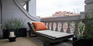 Balcon couvert