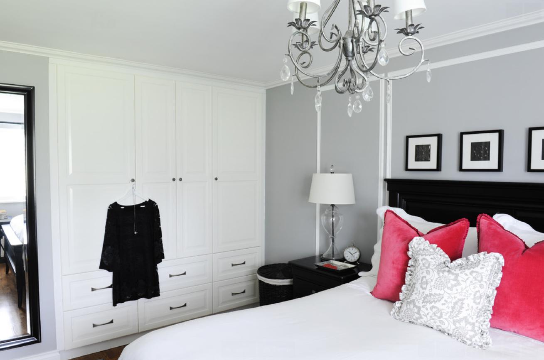 Chambre à coucher avec placard - Pour les makers