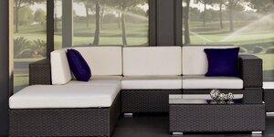 Beaux meubles de jardin