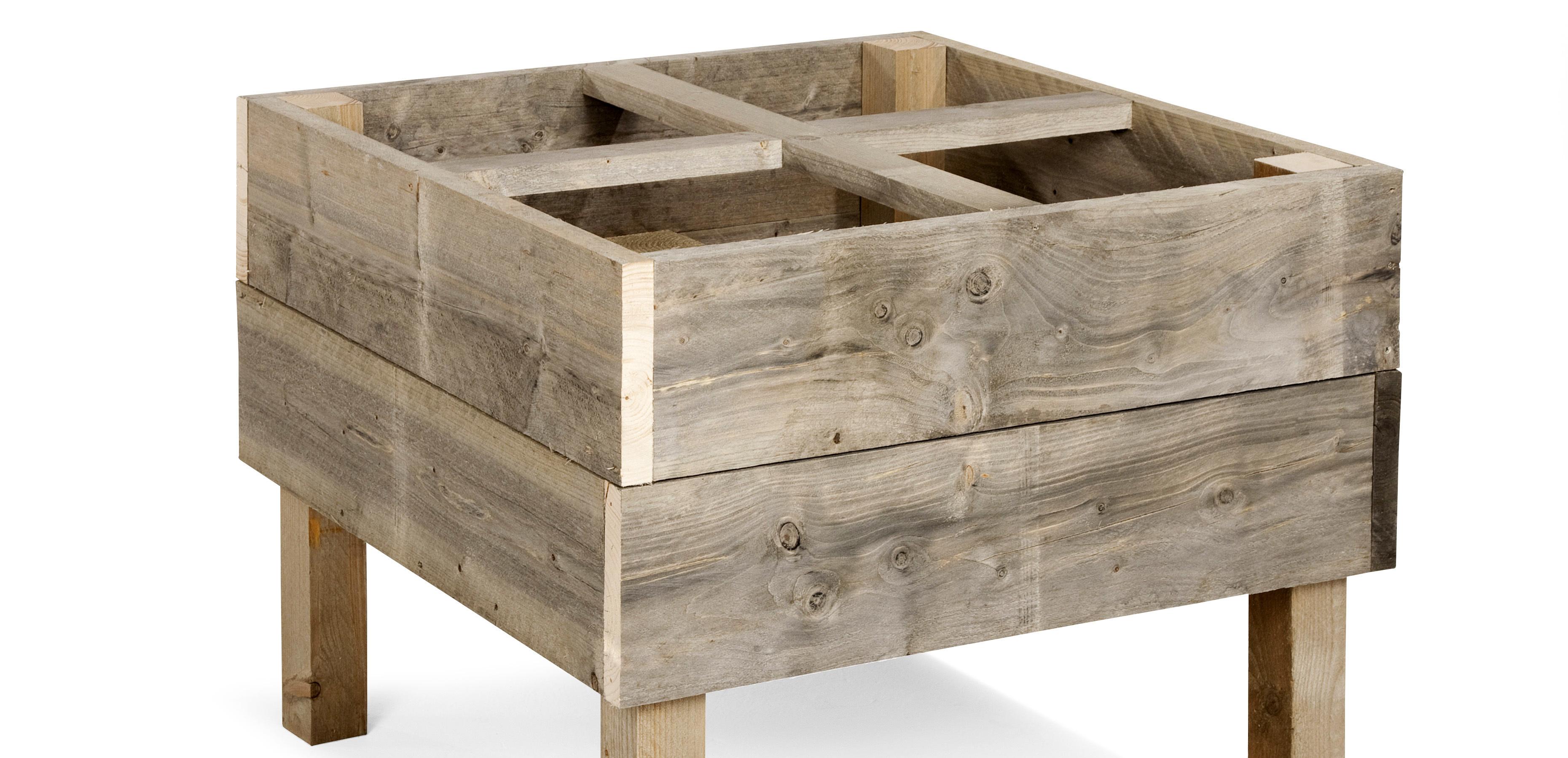Des meubles de jardin uniques et solides carré potager Pour les