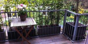 Plus d'espace sur votre balcon