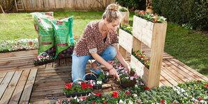 Maak een stapelbare plantenbak