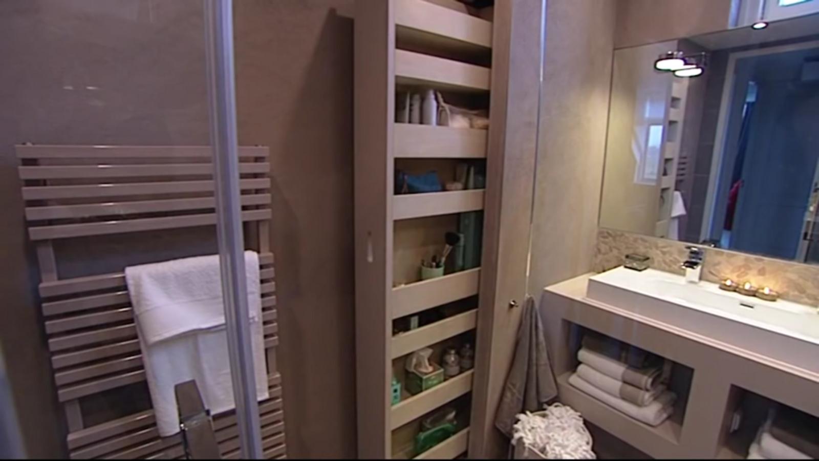 Houten Stellingkast Badkamer : Apothekerskast voor in de badkamer brico voor de makers