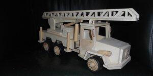 Modelbouw brandweerauto