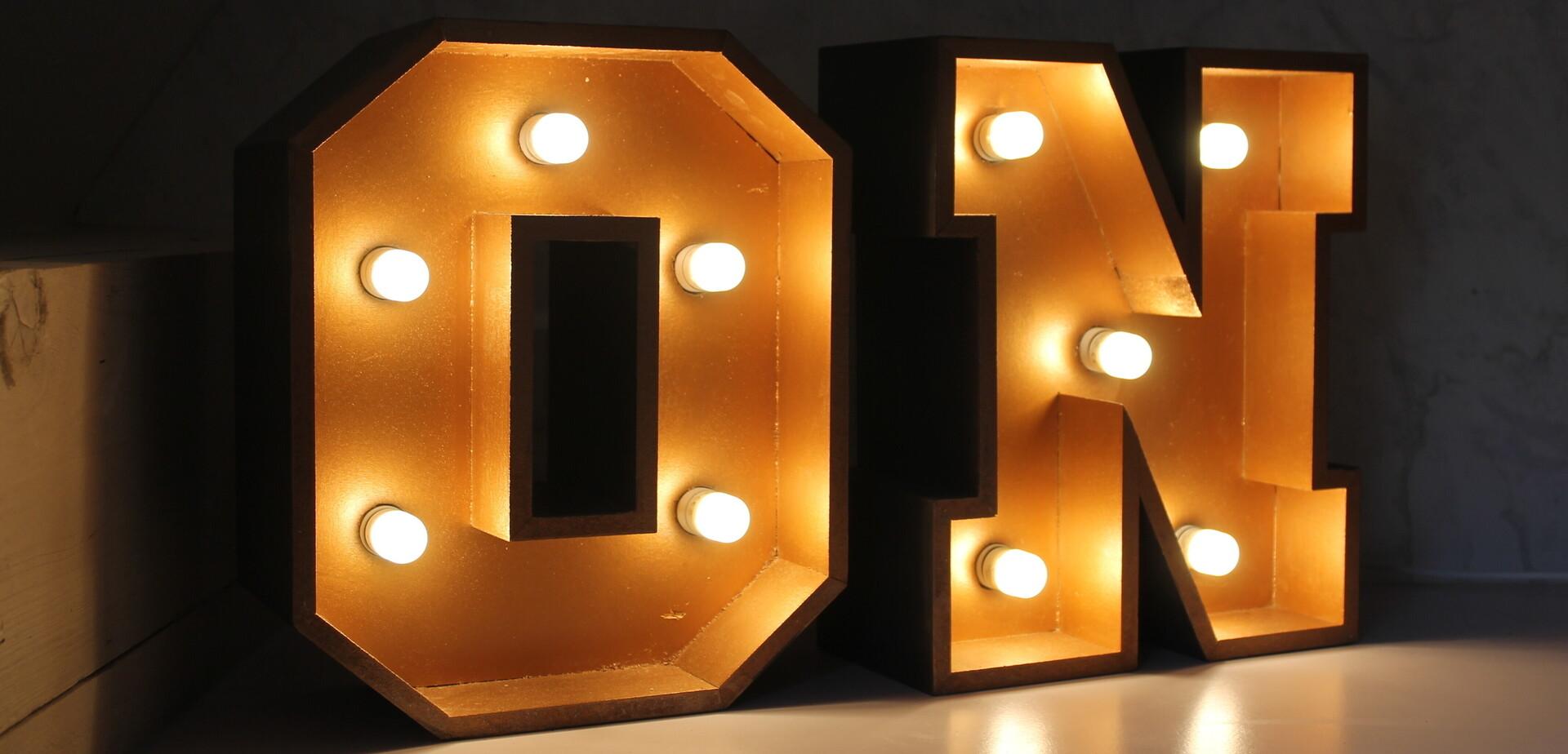 Lichtletters Maken Brico Voor De Makers