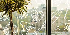 Originele raamdecoratie die je zelf kunt maken