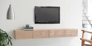 Maak een designer TV-meubel van eikenhout