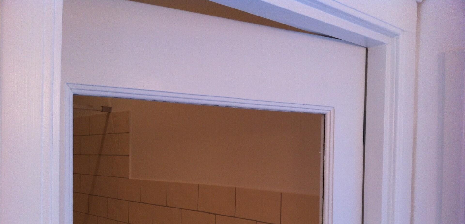 Mettre une vitre dans une porte int rieure pour les makers for Vitre pour porte interieure
