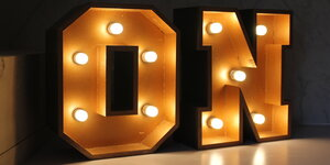 Créer des lettres lumineuses