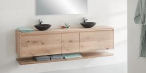 Eiken badkamermeubel maken