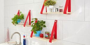 Kruidenplankjes voor in de keuken
