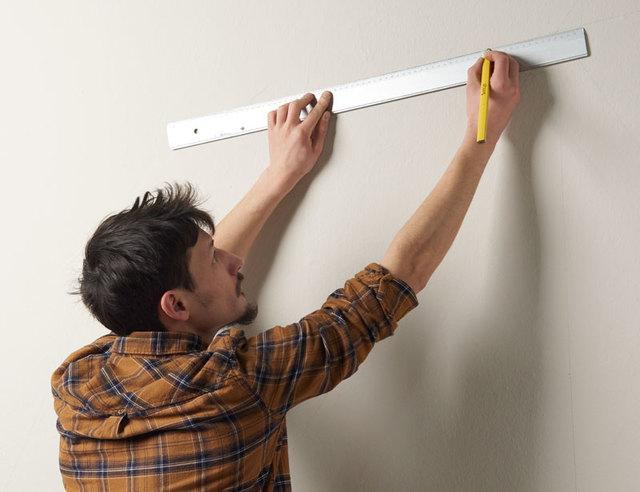 Peindre vos murs avec des formes g om triques pour les for Peindre des formes geometriques sur un mur