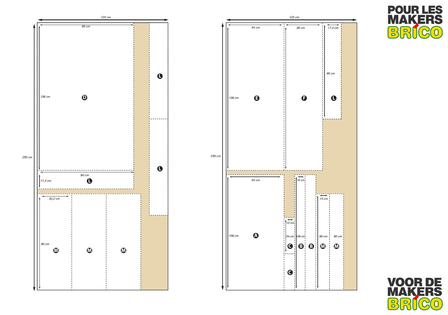 conseils pour construire un tabli en bois pour les makers. Black Bedroom Furniture Sets. Home Design Ideas