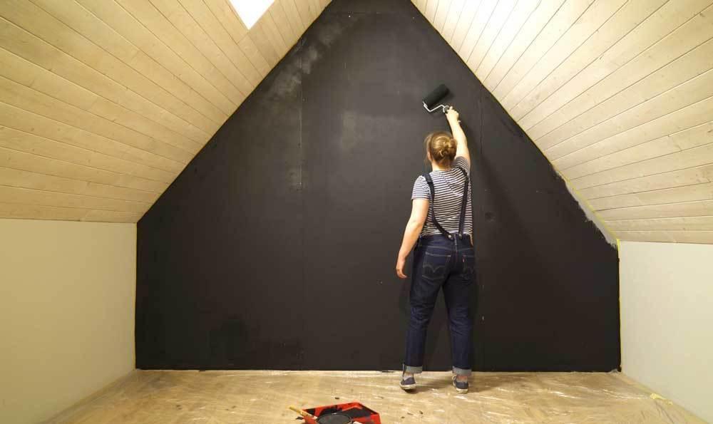 Recouvrir un mur de planches d 39 chafaudage pour les makers for Recouvrir un mur exterieur abime