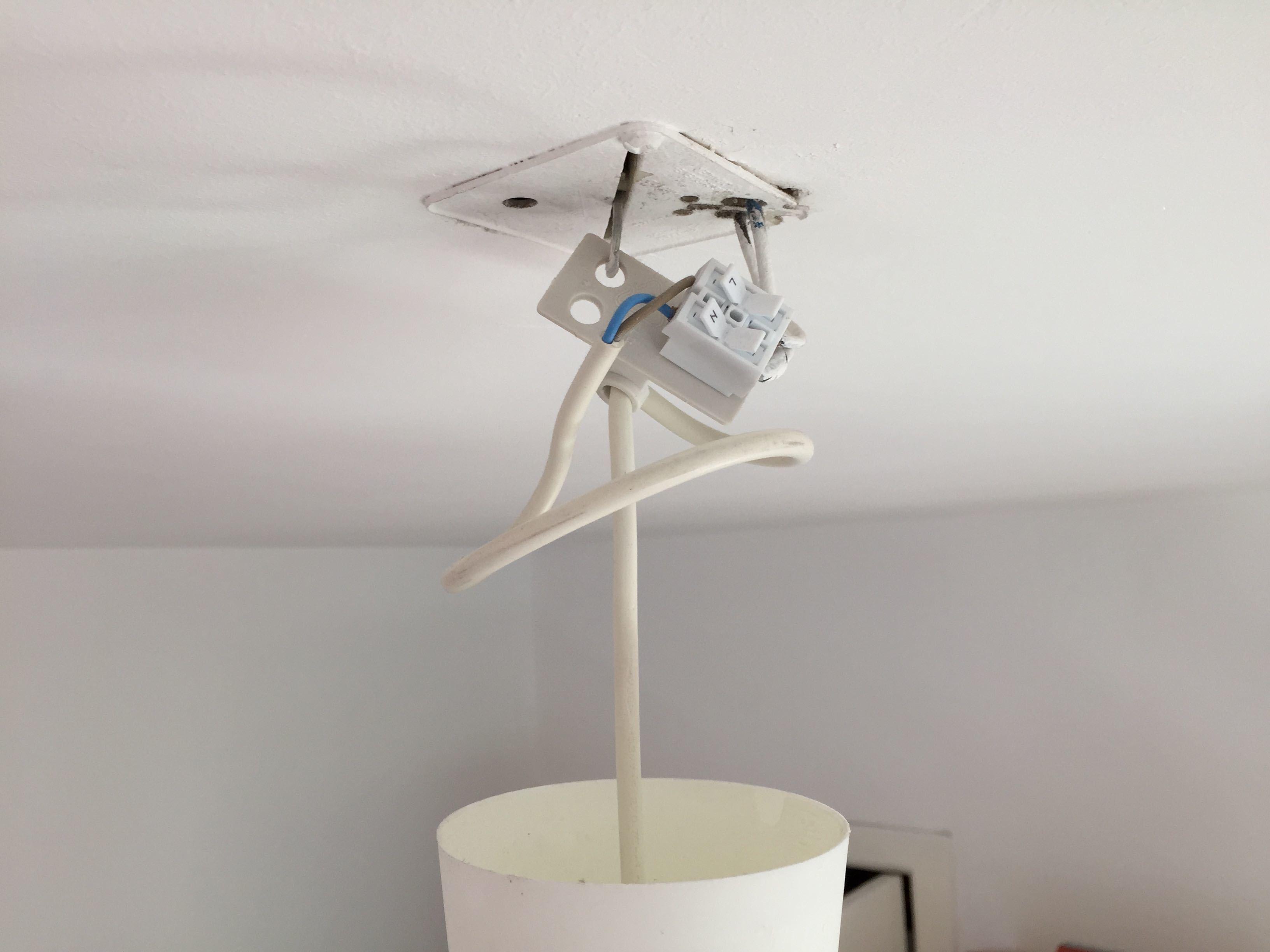 Twee Lampen Ophangen : Lamp ophangen brico voor de makers