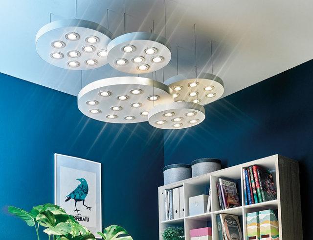 Fabriquer un luminaire suspendu pour les makers for Fabriquer un plafond suspendu