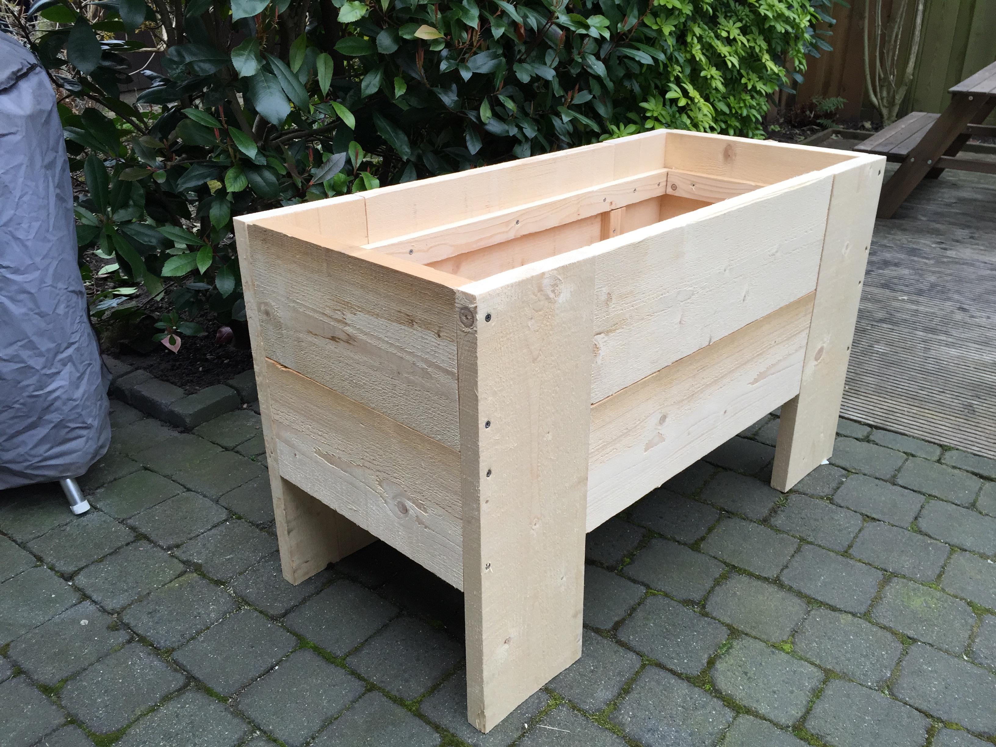 Moestuin Zelf Maken : Plantenbak maken moestuin brico voor de makers