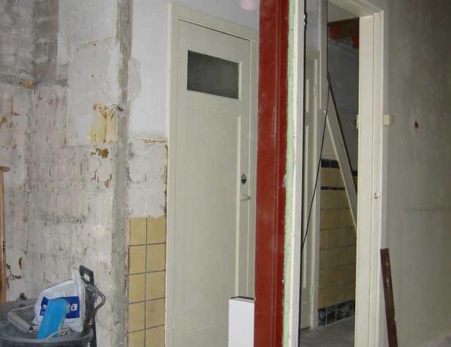 boucher une baie de porte en maçonnerie - pour les makers - Enlever Un Mur Porteur