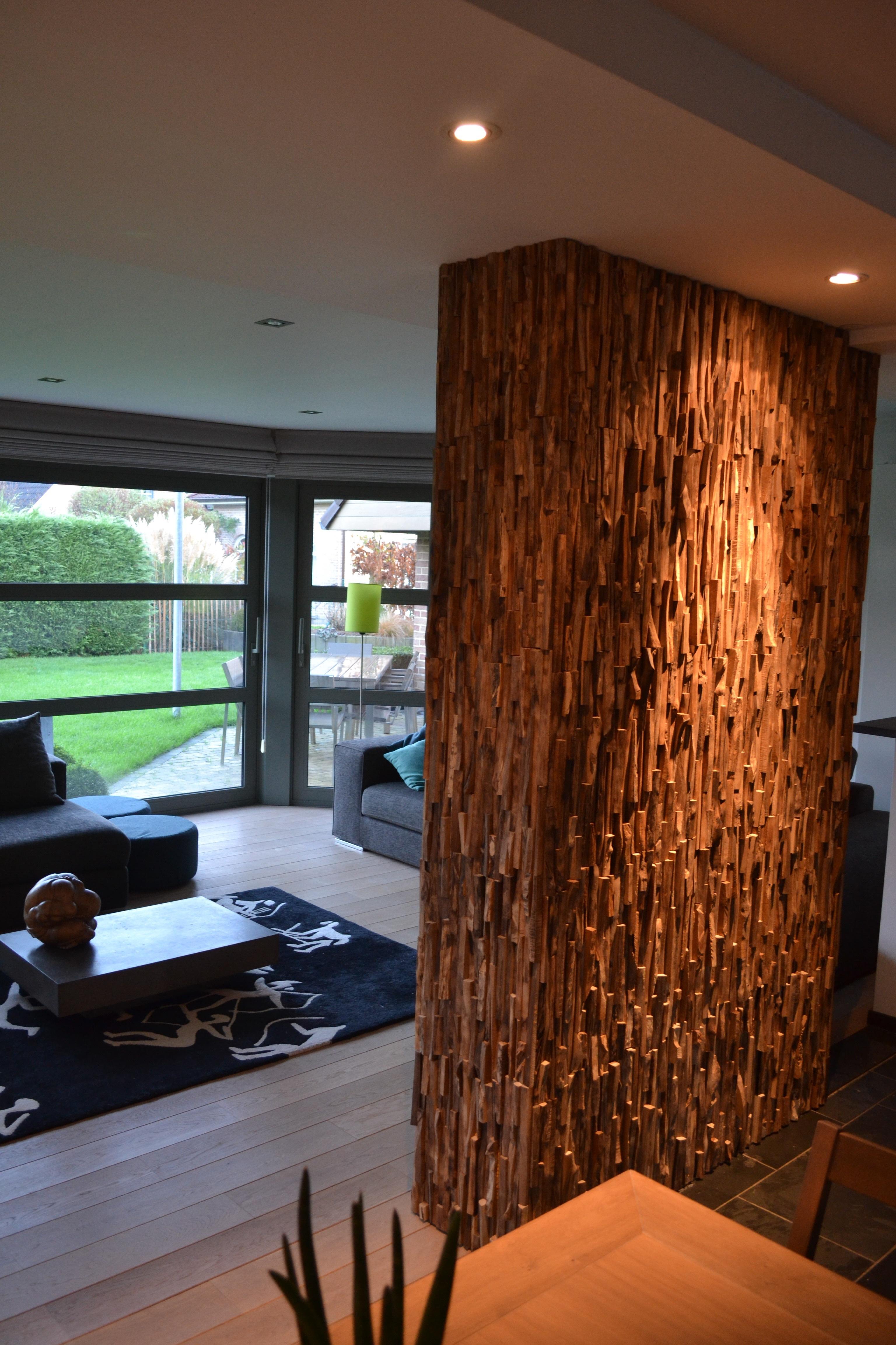 Stenen Muur Vernissen : Muur bekleden met decoratieve strips brico voor de makers