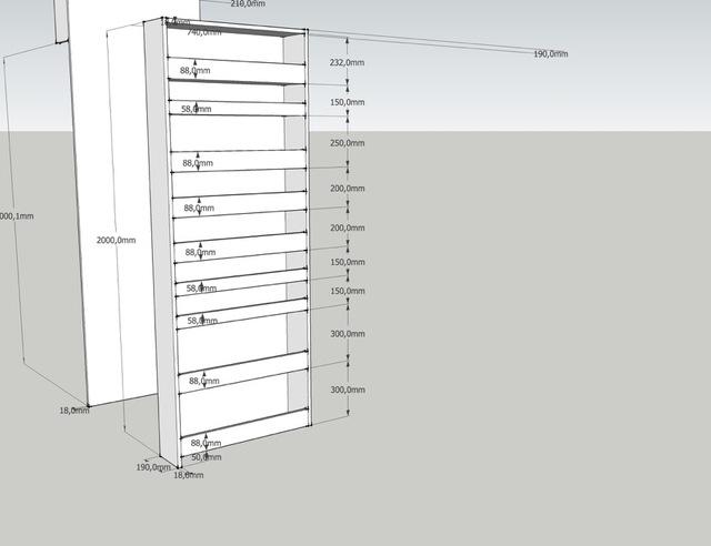 Tekening Badkamer Maken : Apothekerskast voor in de badkamer brico voor de makers