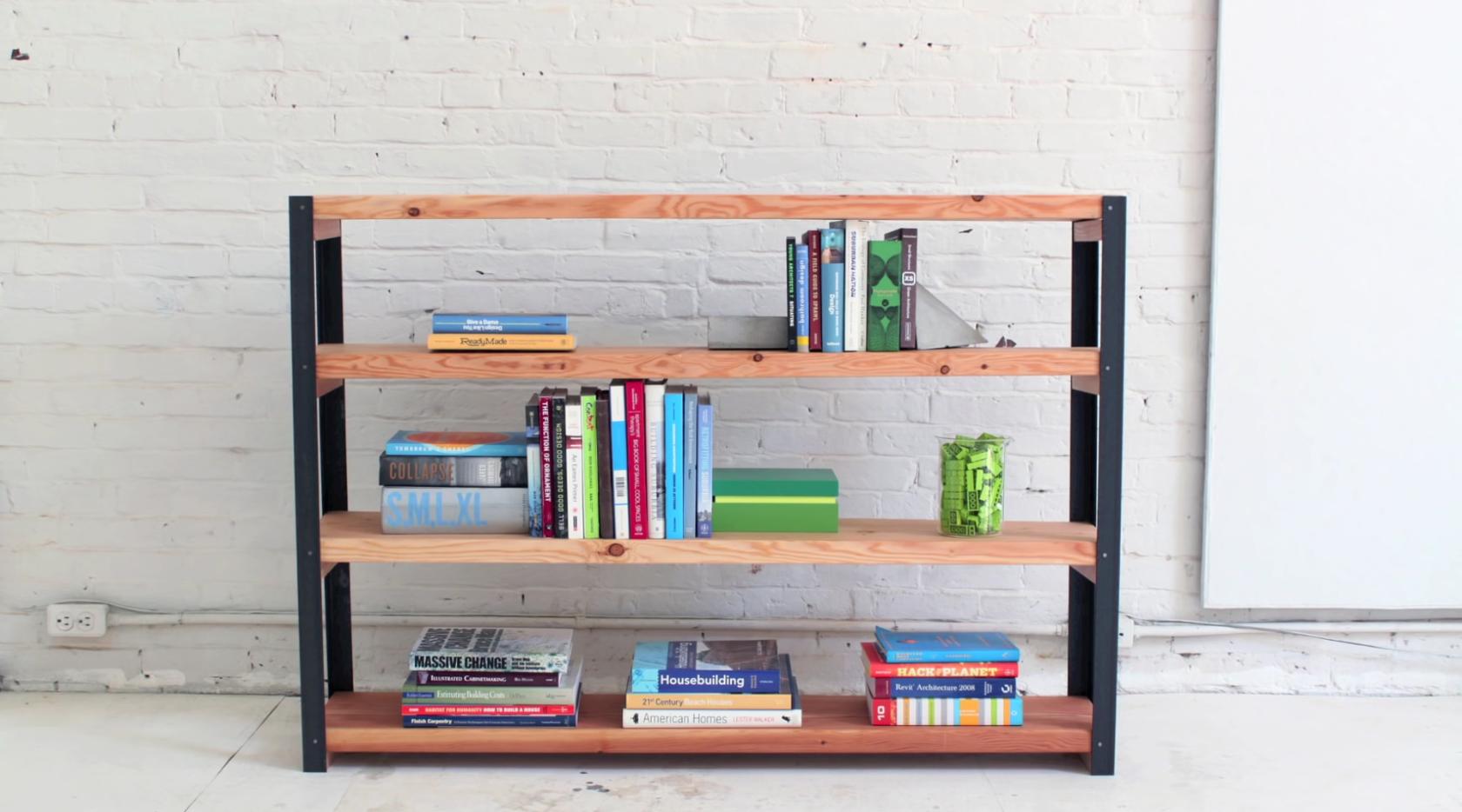 Industriële boekenkast maken - Brico | Voor de makers