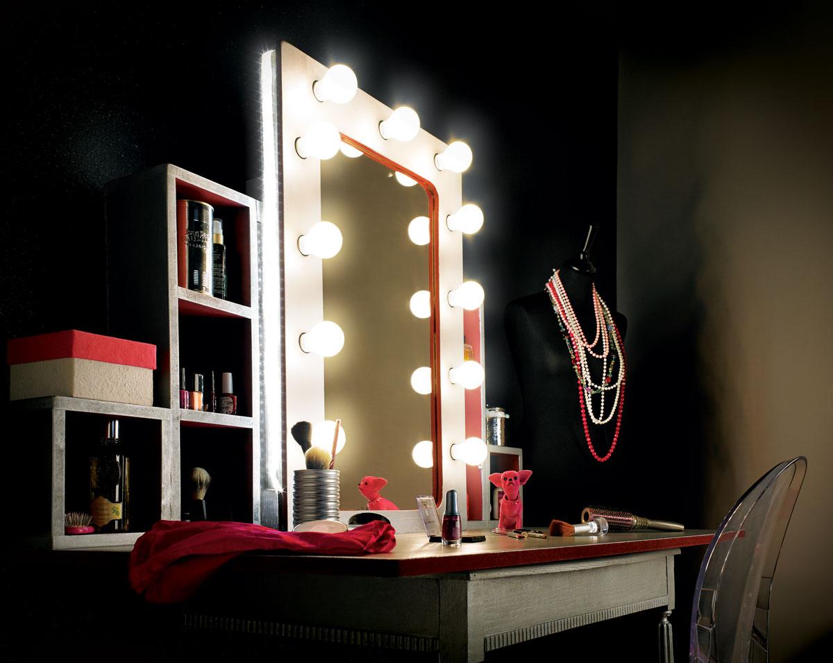Een glamourspiegel maken - Brico | Voor de makers