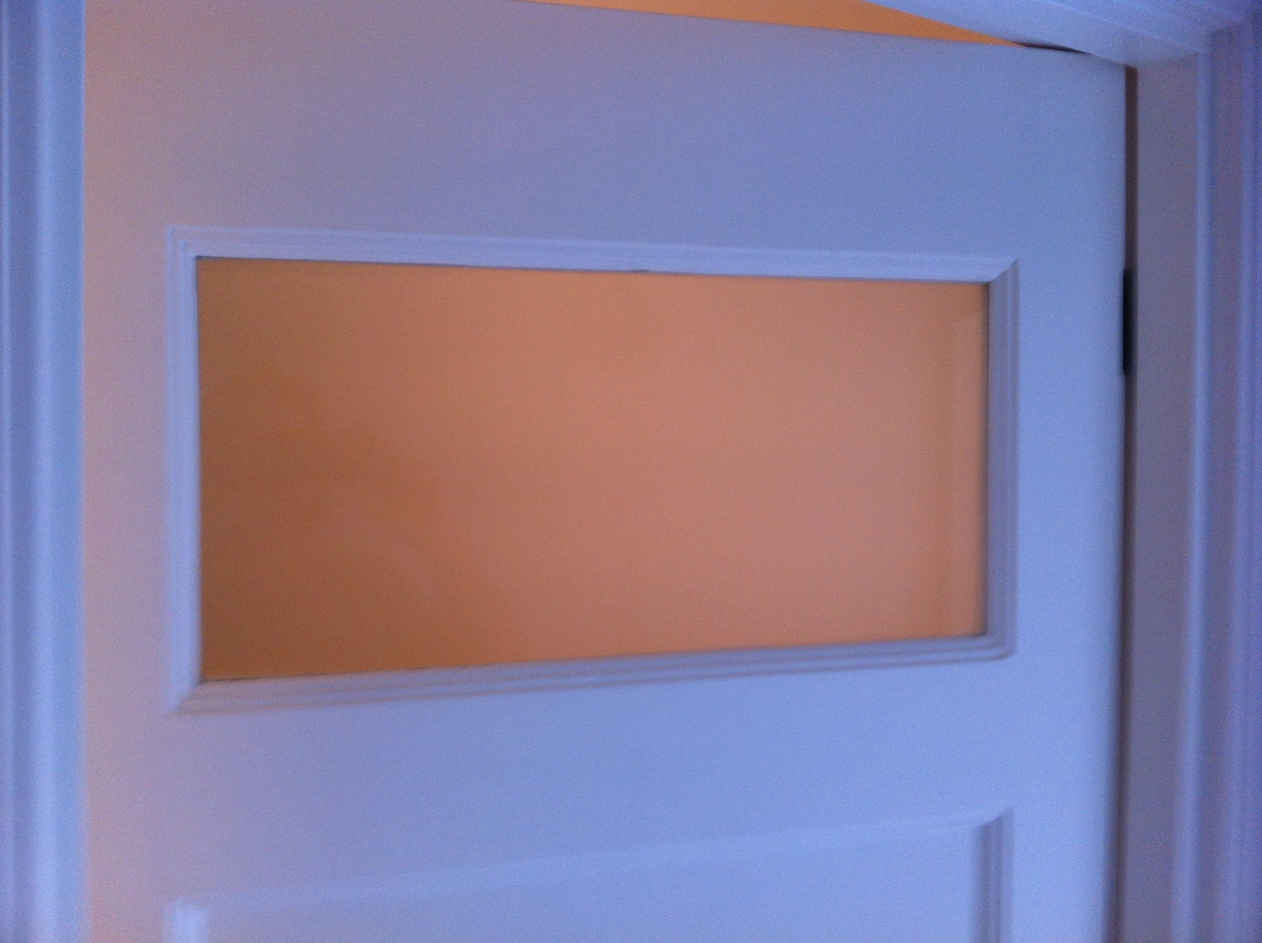 Mettre une vitre dans une porte int rieure pour les makers for Recouvrir porte interieure
