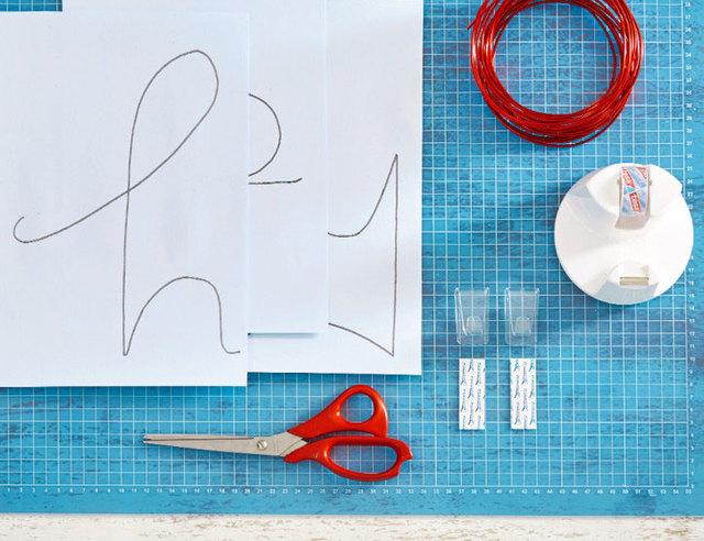 Gereedschap Als Muurdecoratie : Woorden uit ijzerdraad als decoratie brico voor de makers
