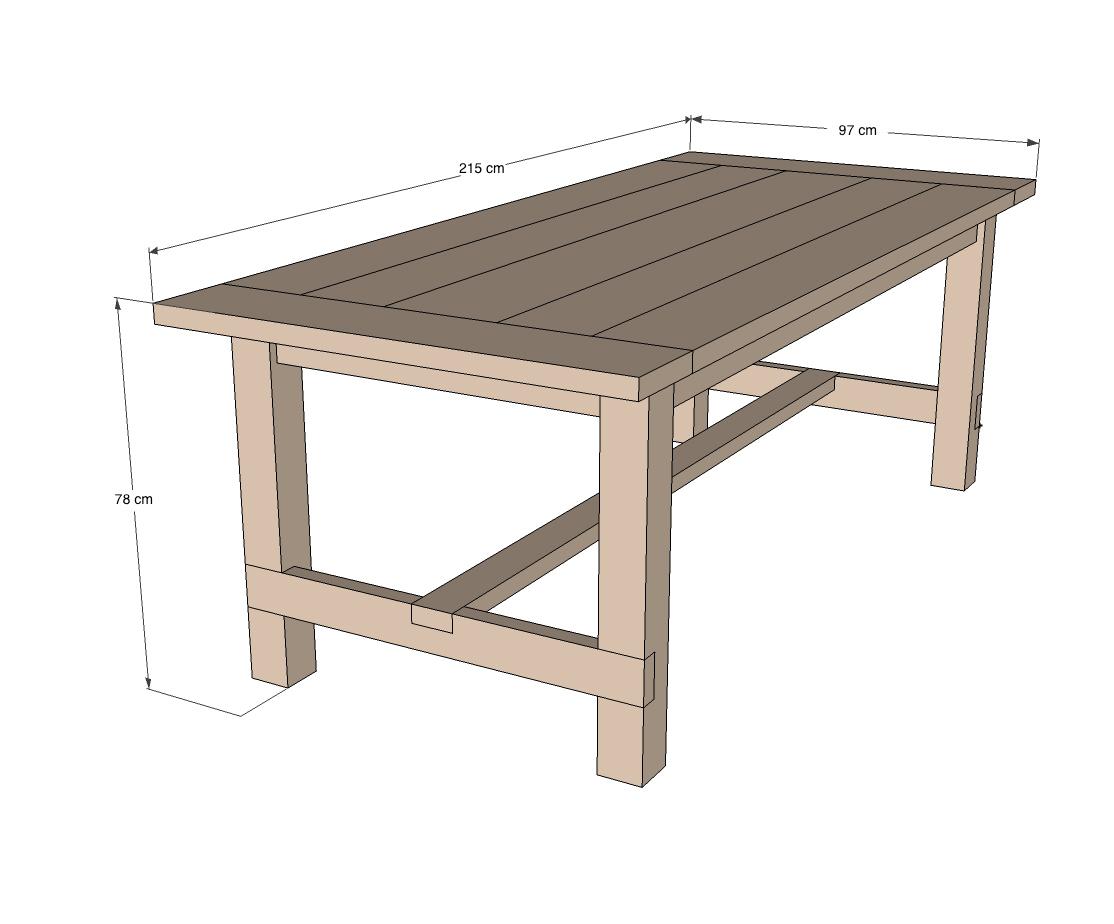 fabriquer une table robuste pour les makers. Black Bedroom Furniture Sets. Home Design Ideas